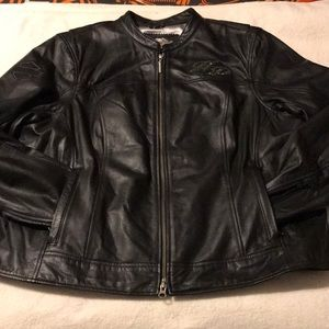 NWT Beautiful blingy Harley-Davidson leather jacke